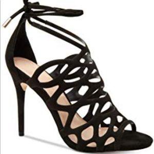 Bcbg black shoeS 5.5 Joanna Microsuede